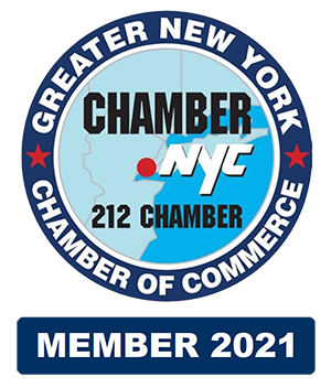 2021 Member of the NYC Chamber of Commerce