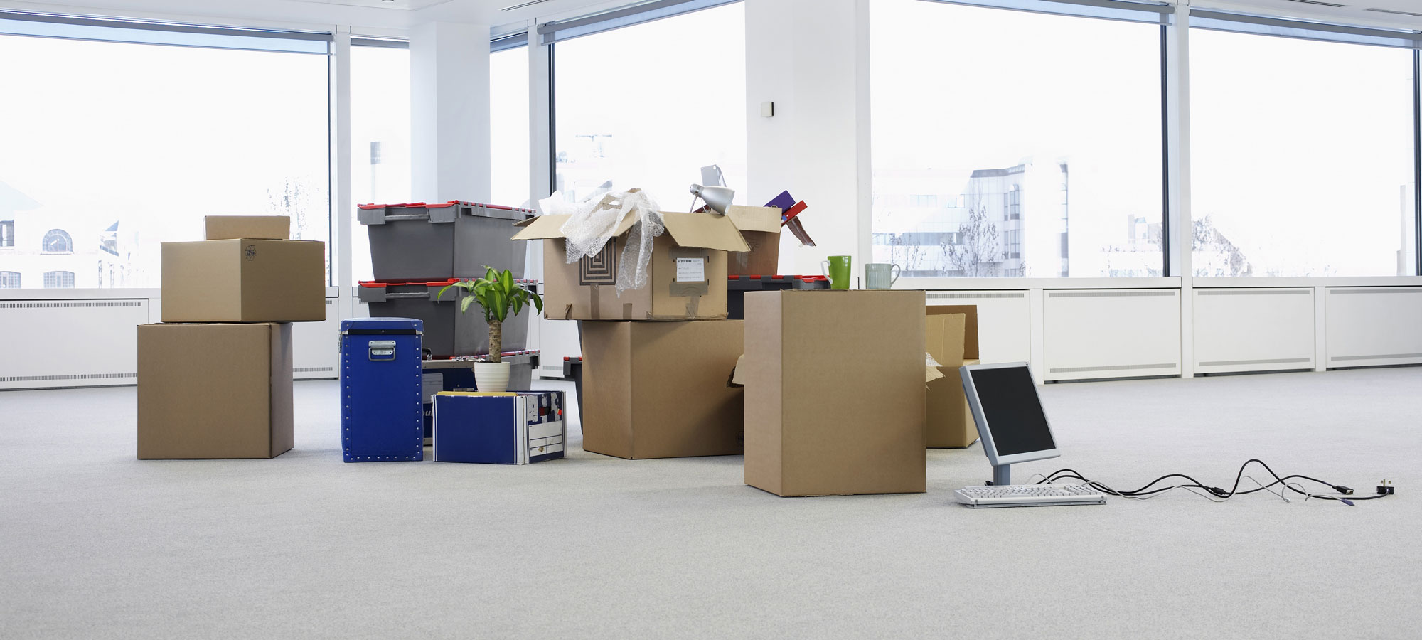 Boxes-in-an-Empty-Office