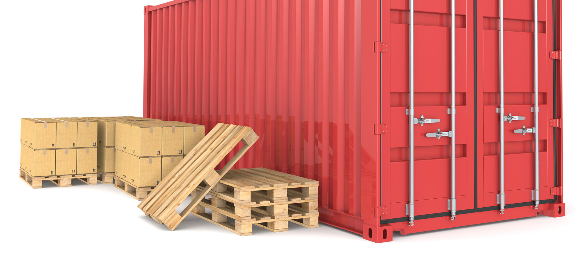 Container-and-Pallets